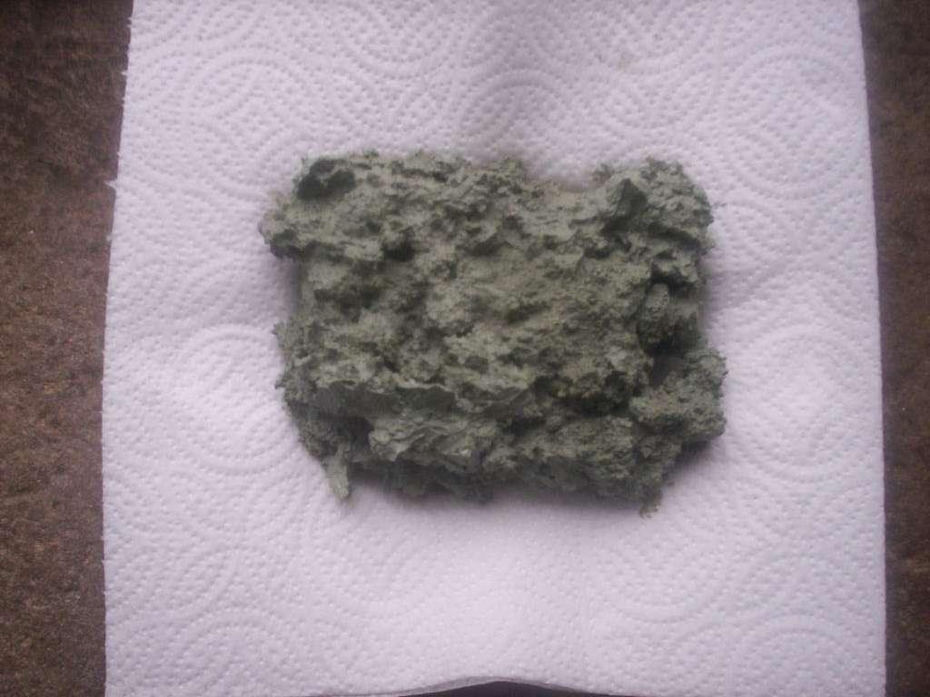 cataplasme d'argile verte prêt à poser