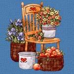 pommes-fleurs-chaise