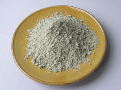 argile grise en poudre
